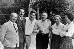 Heidegger visiting Lacan at his home, 1955