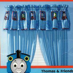 Thomas the Train Engine & Friends Drapery Drapes Curtain Panels ...