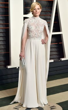 Elizabeth Banks from Oscars 2016: Party Pics  How angelic does the actress look at the Vanity Fair Oscars party?