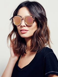 Down And Out Metal Sunglass at Free People Clothing Boutique. kate la  sirena · lunettes (et de soleil) 7c205c38209f