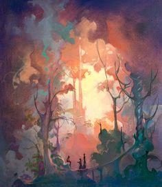 Fantasy Forrest by John Pitre
