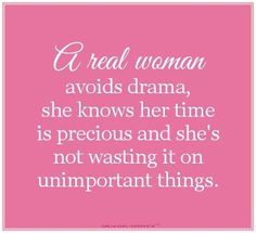 A real woman......