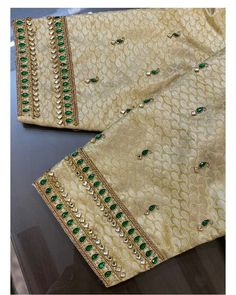 Photo by Moksh Blouse Studio in Moksh blouse studio with Hand Work Blouse Design, Simple Blouse Designs, Stylish Blouse Design, Bridal Blouse Designs, Blouse Neck Designs, Brocade Blouse Designs, Pattu Saree Blouse Designs, Lehenga Blouse, Blouse Patterns