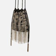 Fashion Bags, Womens Fashion, Zara Bags, Online Collections, High Society, Zara United States, Drawstring Backpack, Bucket Bag, Crossbody Bag