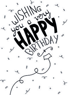 Best Birthday Quotes : Wishing you a ver happy birthday - Quotes Boxes Very Happy Birthday, Happy Birthday Images, Happy Birthday Greetings, Birthday Pictures, Birthday Messages, Special Birthday, Happy Birthday Sir Wishes, Happy Birthday Writing, 20th Birthday