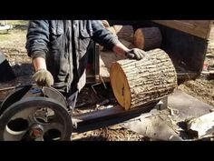 Splitting gum with my super Splitter. It takes a while for the Splitter to recover, as my clutch is kind of worn out. I unde. Firewood Logs, Log Splitter, Baler, Woodworking Projects, Detail, Welding, Mud, Youtube, Camping