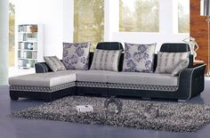 When deciding on l shaped sofa design, consider size and purpose of the room. L shaped sofa work well in both informal and more formal environments. Corner Sofa Design, Living Room Sofa Design, Wooden Sofa Designs, Sofa Set Designs, Sofa Furniture, Living Room Furniture, L Shaped Sofa Bed, L Shaped Sofa Designs, L Shaped Living Room