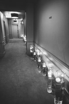 Floating Candle Ceremony Decor | photography by http://www.pencarlsonblog.com/