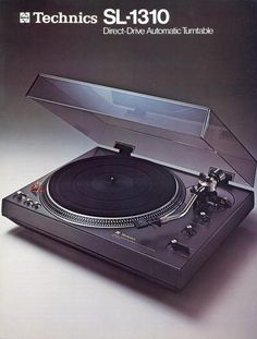 "3345rpmz:• Catalogues • ⋅ Technics SL-1310 ⋅ "" Direct Drive Automatic Turntable """