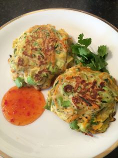 Korean Pancakes - Perfect Appetizer and Low Calorie Besides | Recipes by Victoria