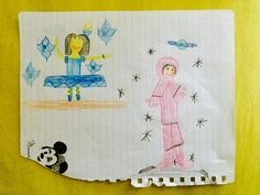 A blue tutu and a pink space suit. Blue Tutu, Raising Girls, Baby Makes, Pink Dress, Eve, Suit, Space, Pink Sundress, Floor Space