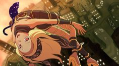 I didn't realize how embedded in asynchronous online play Gravity Rush 2 was, but it seems to have a lot of good mechanics involved with normal play. For one, online events can randomly spring up on the map, along with treasure hunts, . Gravity Rush 2, Character Concept, Character Design, Cartoon N, Shadow Of The Colossus, Fiction, Another Anime, Best Games, Wii U