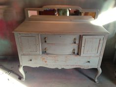 distressed gray buffet $575 - Chicago http://furnishly.com/catalog/product/view/id/4950/s/distressed-gray-buffet/