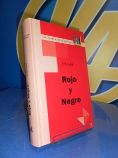 Libro ROJO Y NEGRO sthendal