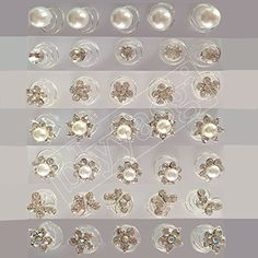 Blyyasgi Mini Gorgeous Rhinestones Hair Spirals Clips for Women and Girls Pack of 35 Pieces >>> Check this awesome product by going to the link at the image. Wholesale Hair Accessories, Organizing Hair Accessories, Hair Accessories For Women, Curly Hair Care, Curly Hair Styles, Natural Hair Styles, Pearl Headpiece, Spirals, Hair Care Tips