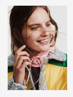 Tilda Lindstam for CR Fashion Book FW 2014