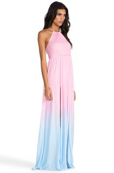 Gorgeous maxi dress. I am so ready for SPRING!