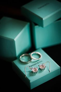 The infamous blue box. Every girl loves Tiffany's!