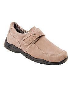 Stone Nubuck Antwerp Leather Walking Shoe