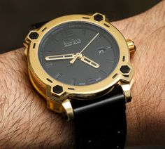 Bulova Accu-Swiss Percheron Watch Available In Solid 24k Gold For $42,000