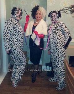 find this pin and more on halloween costume ideas coolest cruella deville - Cruella Deville Halloween Costume Ideas