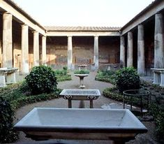 Garden of the House of the Vettii, Pompeii