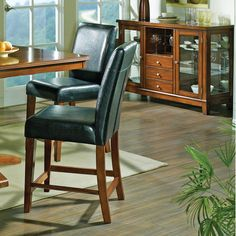"Steve Silver Furniture Plato 24"" Bar Stool"