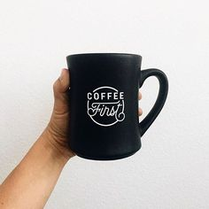 A little insurance to guarantee your morning is a good one. #coffeefirst #thecreatedcommunity Photo by @natalieborton