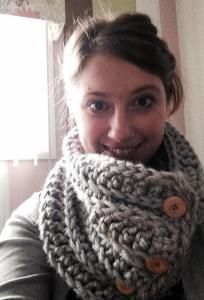 //     //   This free crochet pattern is part of a series of 5 beginner-friendly scarves & cowls that can be made for $10 or less. All you need is a