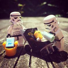 ~ Lego MOCs Holidays ~ Happy Father's Day! #fathersday #responsibility #daddytime #starwarslego