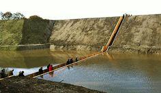 Pont semi-immergé