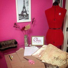 #costura #atelier #moda #festa #modafesta #vestido #renda #tule #manequim