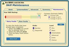 Screen shot of free LMS that comes with enterprise edition of PLC simulator training software.