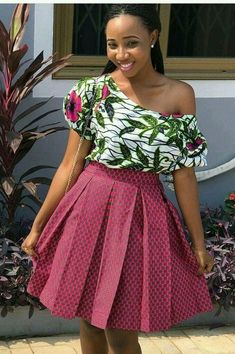 The most awaited Ankara skirt styles have officially been released, Absolutely the perfect match for African Wear Dresses, African Fashion Designers, Latest African Fashion Dresses, African Print Fashion, African Attire, African Prints, Ankara Dress Styles, Ankara Skirt, African Blouses
