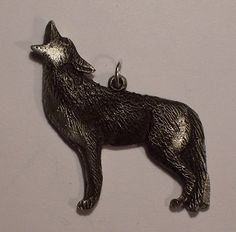 new Design................Coyote song...Pendent by McCloud9Jewelry