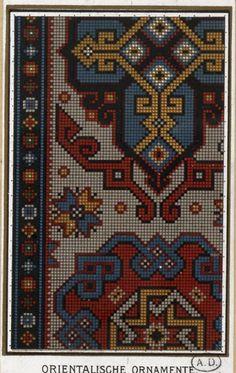 Gallery.ru / Фото #17 - старинные ковры и схемы для вышивки - SvetlanN