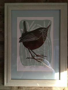 Jenny Wren Linocut Prints, Wren, Frame, Home Decor, Picture Frame, A Frame, Interior Design, Frames, Home Interior Design