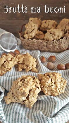 Italian Cookies, Italian Desserts, Raw Food Recipes, Sweet Recipes, Cookie Desserts, Cookie Recipes, Biscotti Cookies, Sicilian Recipes, No Bake Treats