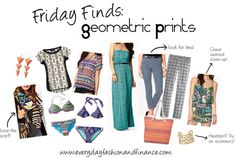 Friday Finds: Geometric Prints