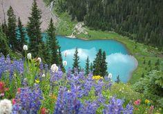 Blue Lake, Ouray Colorado