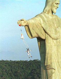 Jesus, put down your arm will ya?