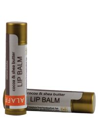 Alaffia Shea & Cocoa Butter Lip Balm (Natural Mocha) - disappointing. The balm is fine, if nothing exciting, maybe a little bitter.