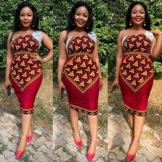 Latest Ankara Styles 2018 Style Inspiration: Get inspired and have your custom African print dress made by Tribe of Afrik African Fashion Skirts, African Fashion Designers, African Inspired Fashion, African Print Dresses, African Print Fashion, Africa Fashion, African Wear, African Dress, African Style