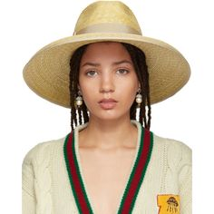 Shop from luxury labels, emerging designers and streetwear brands for both men and women. Gucci, Off-White, Acne Studios, and more. Women Accessories, Fashion Accessories, Gucci Gucci, Gucci Outfits, Wide-brim Hat, Love Hat, Hats Online, Luxury Fashion