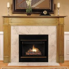 Pearl Mantels 11056 Williamsburg Fireplace Mantel Surround Unfinished *** Continue to the product at the image link. (This is an affiliate link and I receive a commission for the sales)