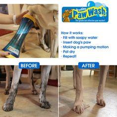 The Paw Wash at Brookstone—Buy Now! on Wanelo