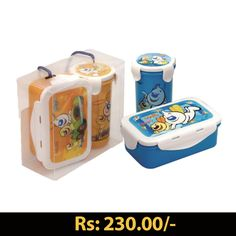 HYPER LOCKED L/CONT SET #Lunchbox #containers #tiffinbox #online #shopping #kids #grahakji