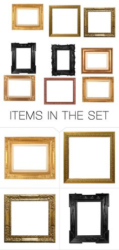 """Frames"" by nurzarmina on Polyvore featuring art"