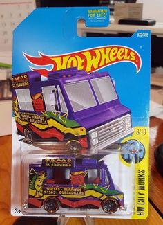 Hot Wheels * City Works * Quick Bites * Taco Truck * Awesome * #MattelHotWheels #Chevrolet
