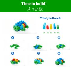 Come our of your shell and start building! Here's a do it yourself guide to our…